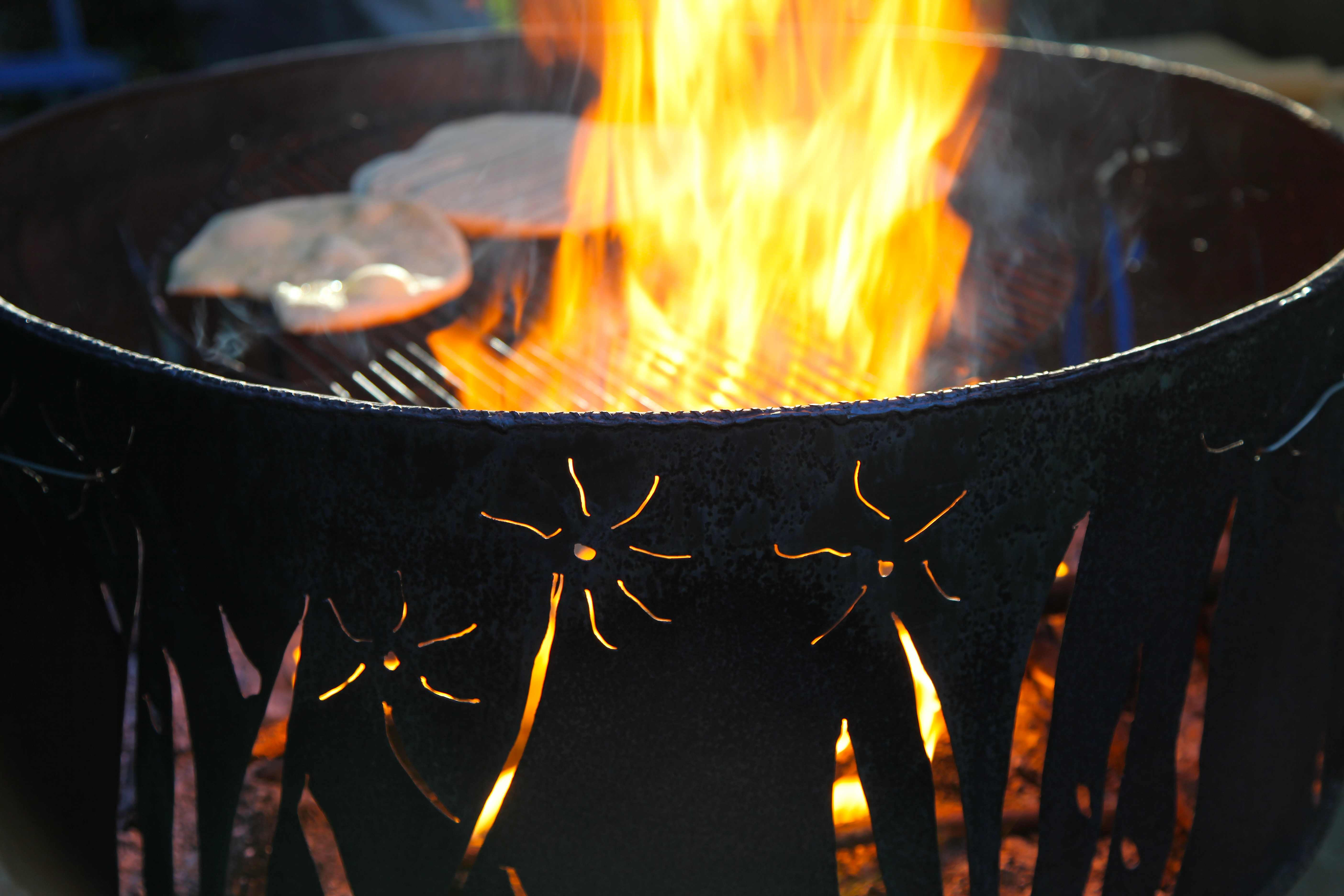 10 DIY Upcycled Fire Pits | Buy Nothing Project