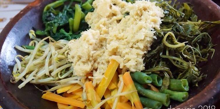 Resep Urap Sayur Bumbu Adem (tidak Pedas) Oleh Ria Harsanti
