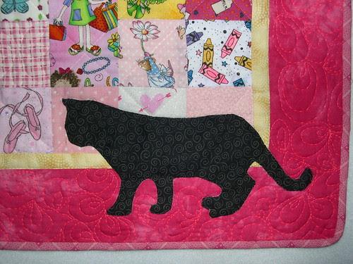 Detail Cat Applique