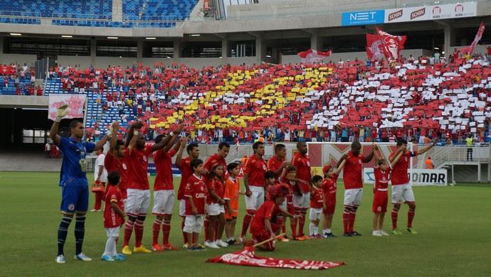 América-RN na Arena das Dunas (Foto: Augusto Gomes)