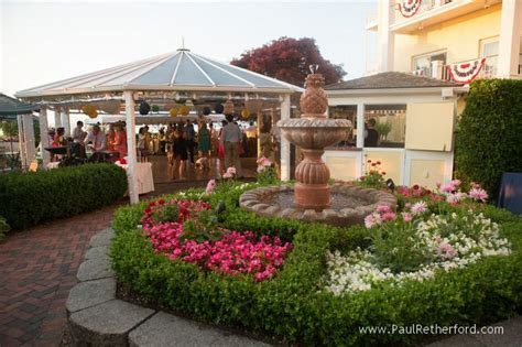 Rose garden at the Perry Hotel Northern Michigan Wedding