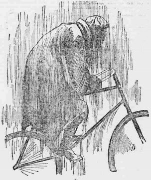 Rain cycling attire
