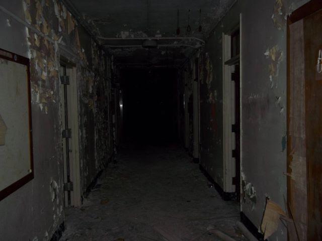 State School in Ruins