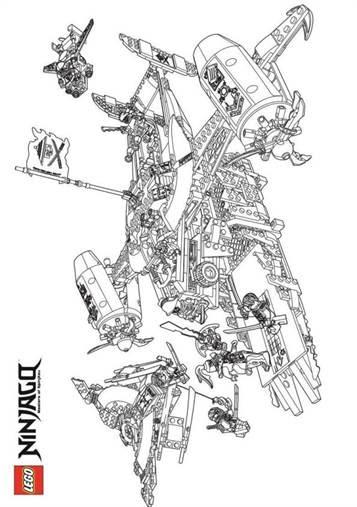 malvorlagen lego ninjago quest  malvorlagen