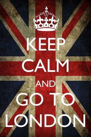 Fique calmo e vá para Londres
