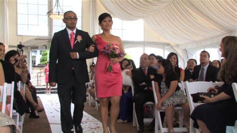 "Funny Wedding Ceremony Entrance ""Bromance""   YouTube"