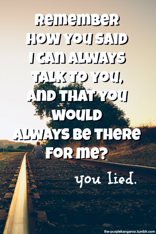 You Told Me You Loved Me Quotes Archidev