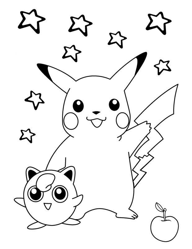 coloriage pikachu 176