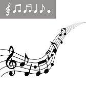 Pentagrama Musical Fotos E Ilustraciones De Stock Imágenes Libres