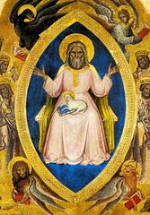 Jacobello Alberegno (+1397), Dios en el Apocalipsis
