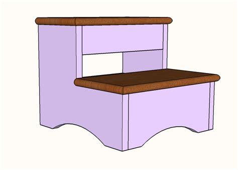 simple step stool diy plans famous artisan