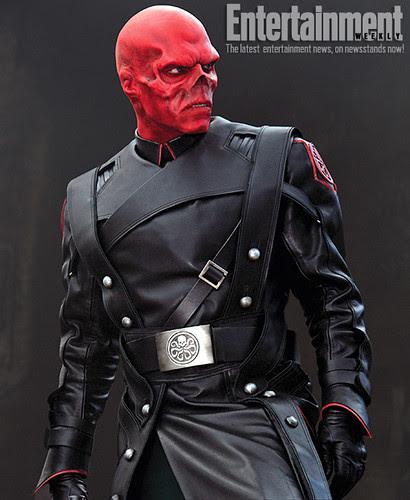 Hugo Weaving as the Red-Skull