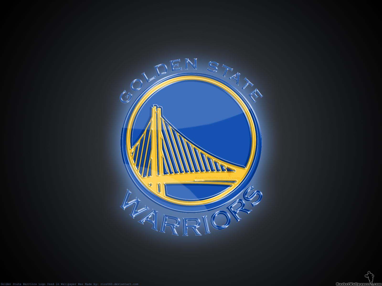 Golden State Warriors 3d Logo Wallpaper Basketball Wallpapers At