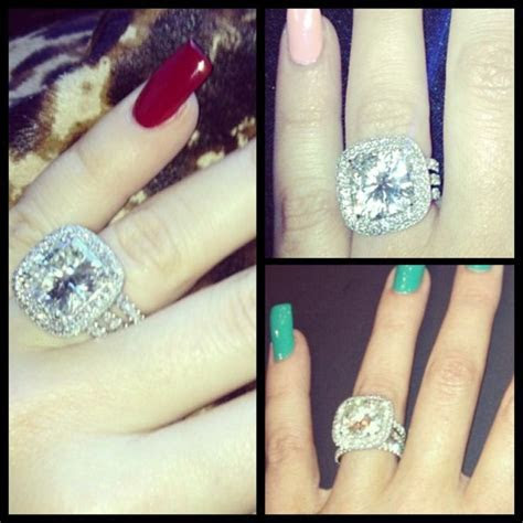 67 best Favorite Celebrity Diamond Rings images on