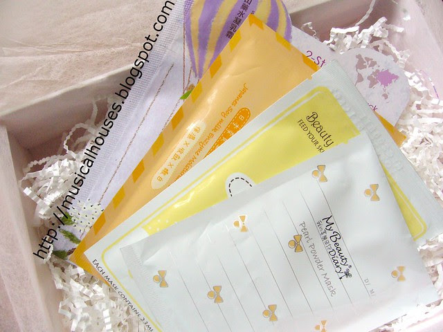 Vanity Trove September LoveMore Facial Masks