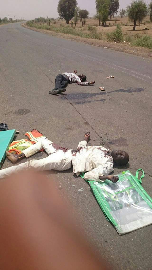 Photo: Inec Staff That Were Killed Today In Dukku Lga Gombe