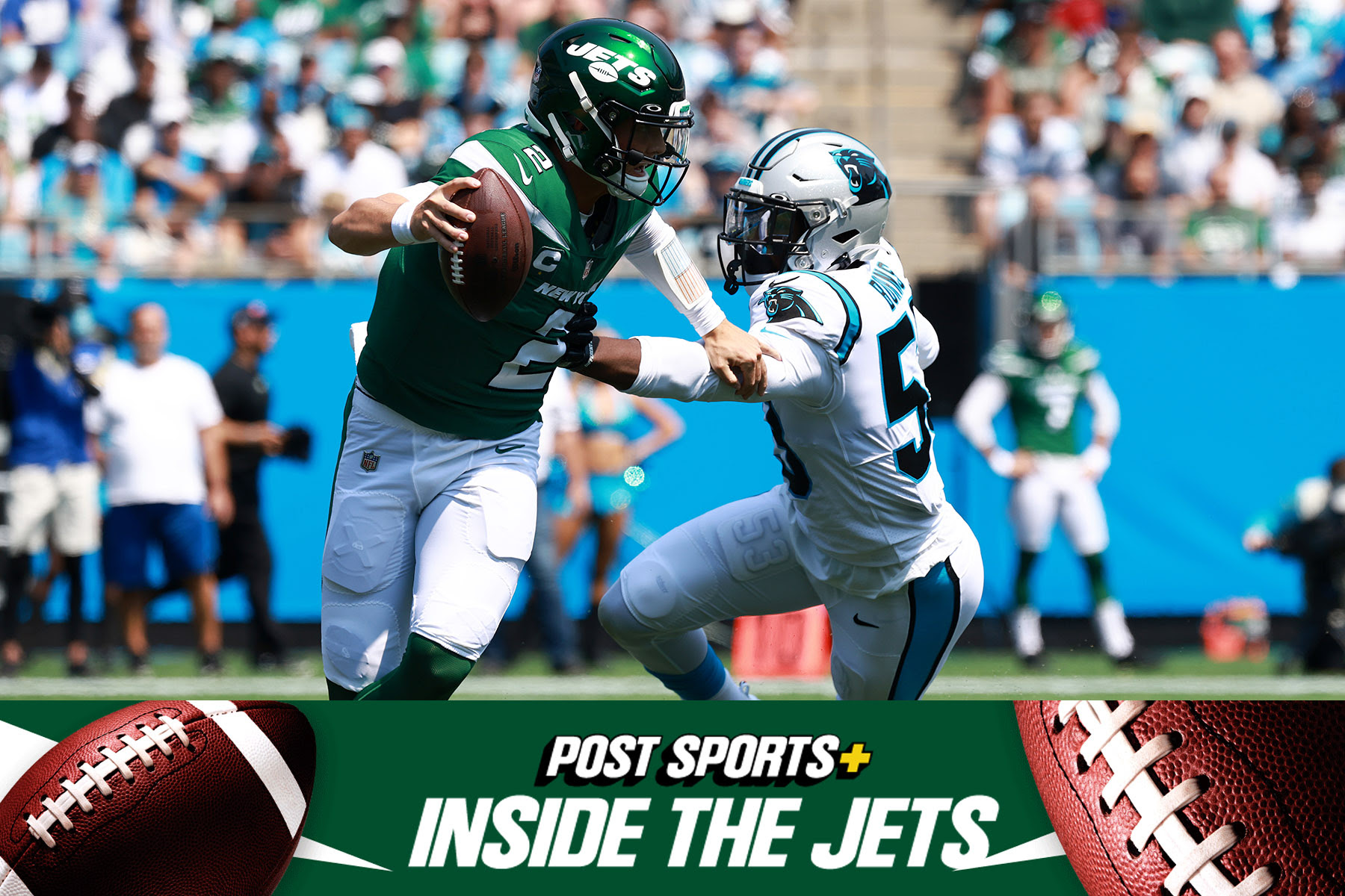 Zach Wilson undermined by Jets coaches, Denzel Mims benching