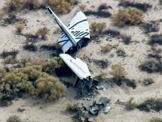 AP SPACESHIPTWO A USA CA