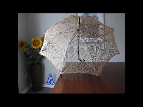 Lace Crochet Parasol