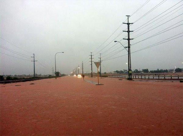 Австралийская Пилбара переживает очередное наводнение