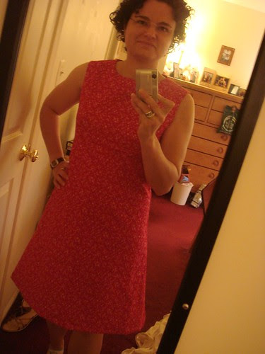 July 8, 2007 red dress
