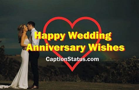 Happy Wedding Anniversary Wishes for Wife, Husband
