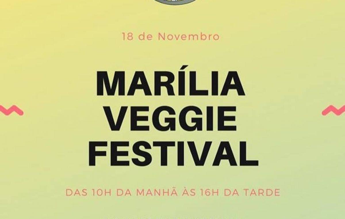 Prefeitura apoia 1º Marília Veggie Festival  neste domingo no Bosque Municipal