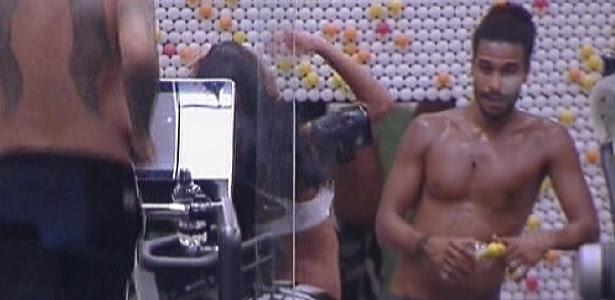 """Última imagem de Daniel dentro da casa do """"BBB12"""" (16/1/12)"""