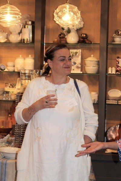 Sylvia from Chopped luxebloggers food blogger CT