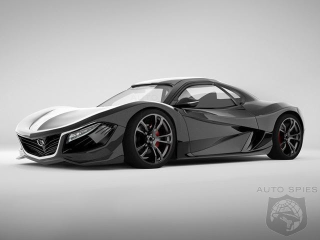 if mazda created a midengine rotary powered rx9 would