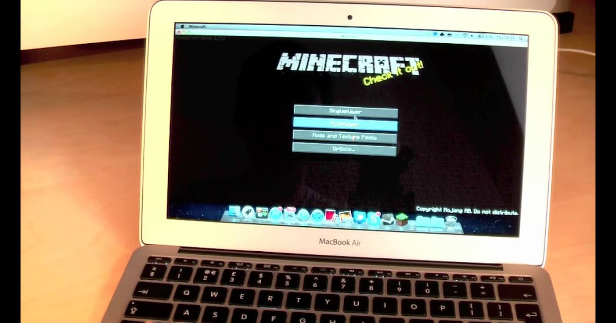 minecraft how mods macbook to on