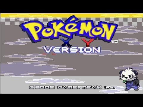 Pok\u00e9mon X\/Y: Version Gba. Cap 1. Pok\u00e9mon X\/Y para GameBoy