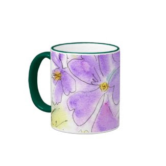 Blue Geranium Mug mug