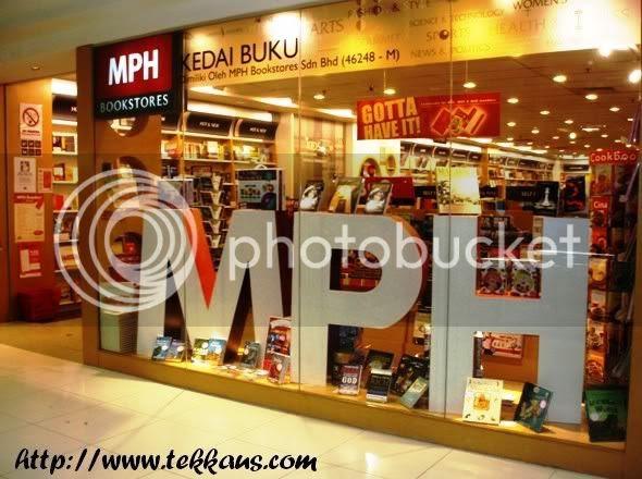 MPH Bookstore Mahkota Parade