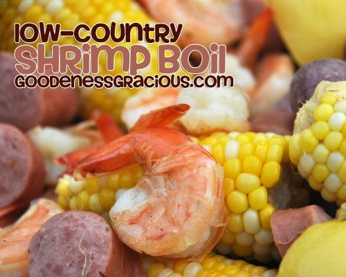 Low-Country Shrimp Boil & Giveaway