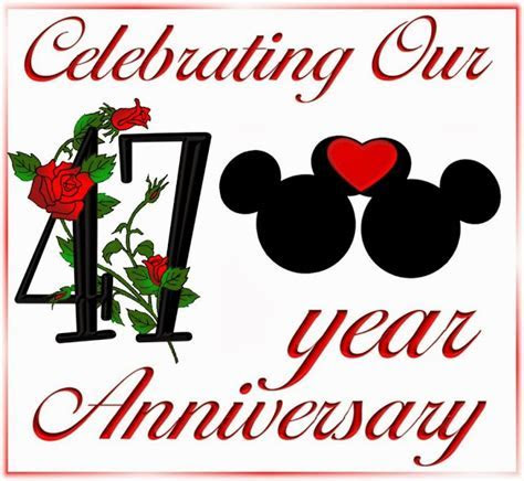Free Minnie and Mickey Printables for 47th. Anniversary