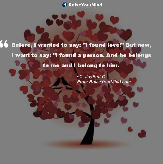 Love Quotes Sayings Verses Before I Wanted To Say I Found