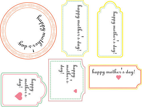 mother's day tags without names
