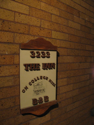 The Inn on College Hill Sign