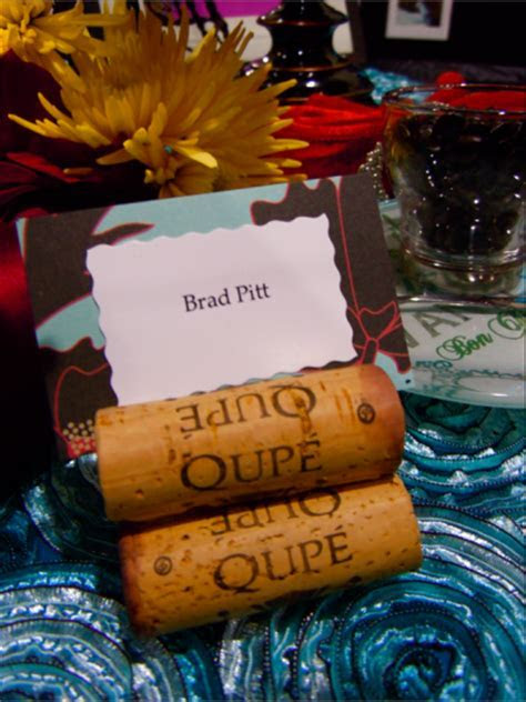 Creative place card designs and escort card ideas for Las