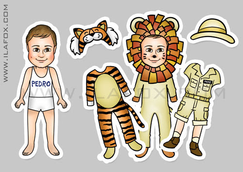 lembrancinha, imã, original, festa infantil, Safari, Leão, Tigre, by ila fox