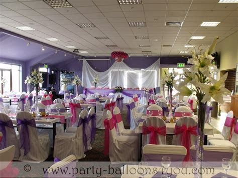 Wedding Venue Decorations Done at Goals Soccer Centre