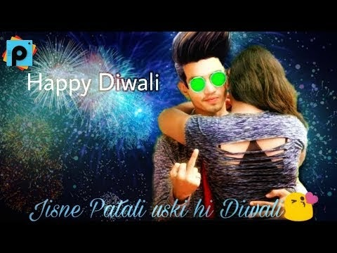 Special Picsart Diwali Picture Editing| Happy Deepawali Friends| A k Editz 2017