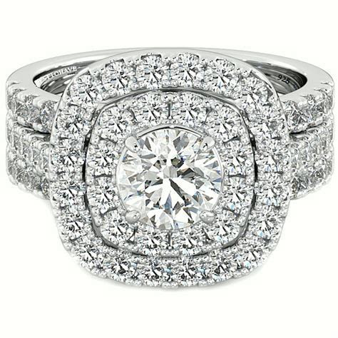 Get Most Brilliant 3 Piece Wedding Ring Sets for