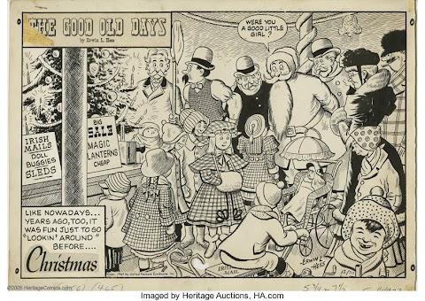 The Good Old Days Comic Strip