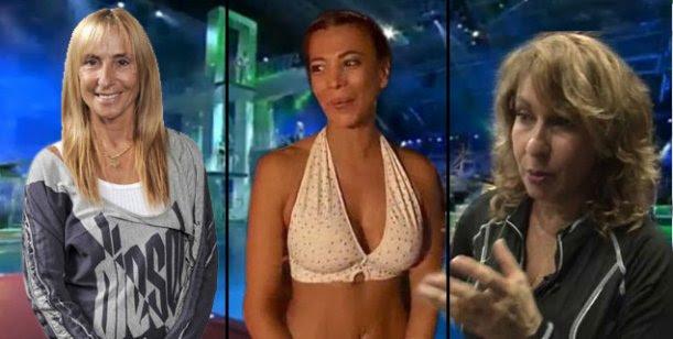 Bagres vs Sirenas en Celebrity Splash, Parte 2: Florimonti dice que ella es sirena