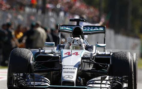 hamilton wins  formula  italian grand prix vettel