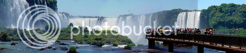 Foz do Iguazzu in Brazil