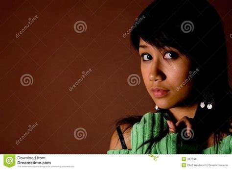 Scared Teen Royalty Free Stock Image   Image: 447446