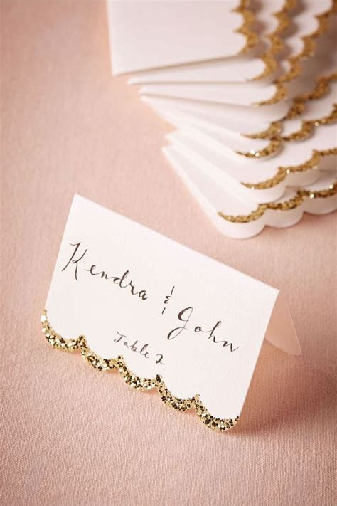 15 Cute Wedding Table Card Ideas   WeddingMix